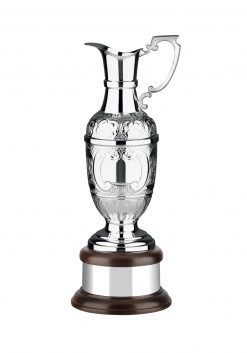 Hand Chased St Anne's Claret Jug