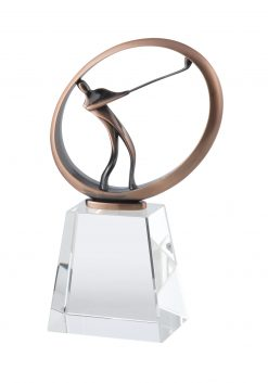 Bronze Golf Crystal