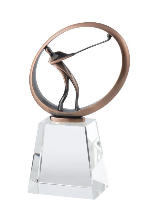 Bronze Golf Crystal