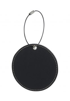 bLACK gOLF BAG TAG