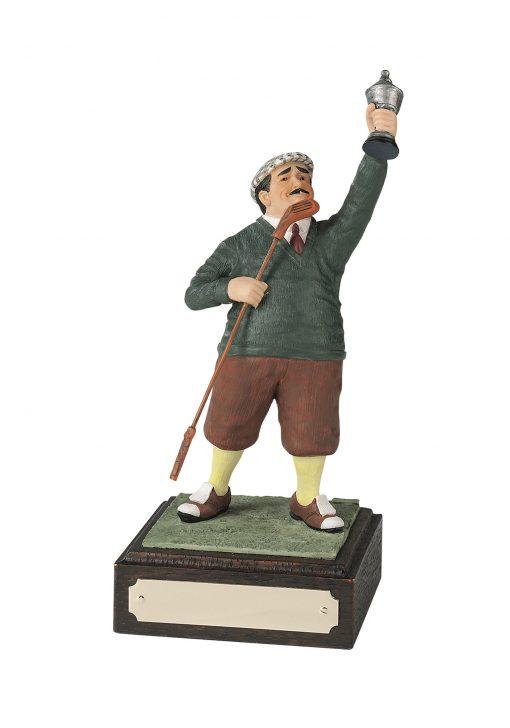 Winner Golf Figurine