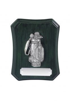 Golf Bag Plaque