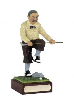 Angry golfer award