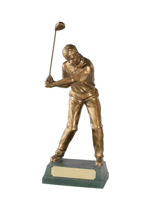 Mid Swing Golfer