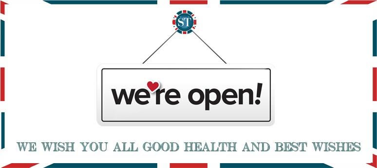 COVID We are open! Lockdown 3 update